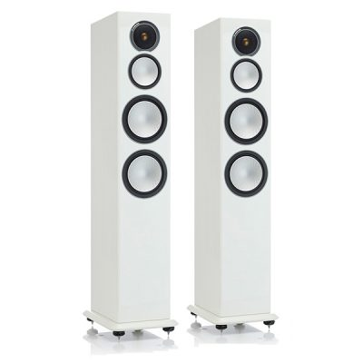 Monitor Audio Silver 8 Vit pianolack